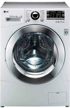 LG F 1447 TD8   Waschmaschine, Frontlader 8kg,1400 U/ für 399€