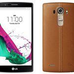 LG G4 Leder Braun