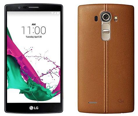 LG G4 LTE Smartphone für 319,90€ (statt 359€)   auch mit Leder!