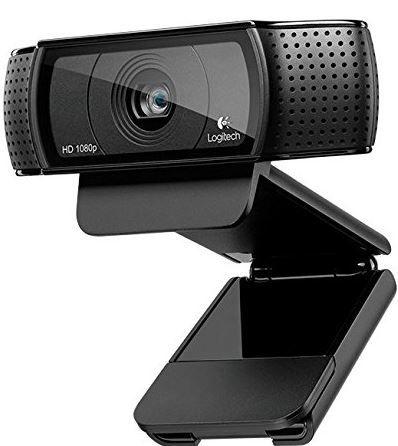 Logitech C920 HD Pro USB Webcam für 51,99€ (statt 65€)