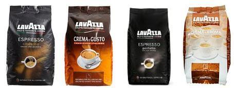 Lavazza Tages Aktion  Lavazza Bohnenkaffee als Amazon Tagesangebot