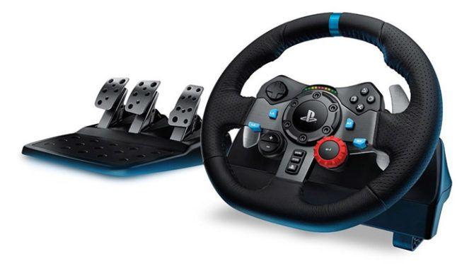 Logitech G29 Driving Force Rennlenkrad + PS 4 Game: Gran Turismo Sport Day 1 für 199€ (statt 251€)