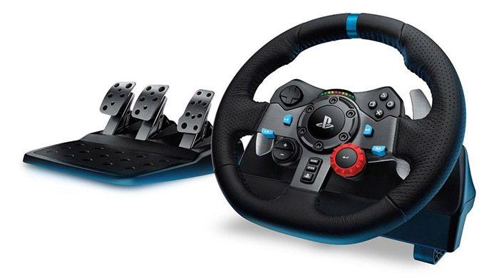 Logitech G29 Driving Force Rennlenkrad für 219€ (statt 252€)