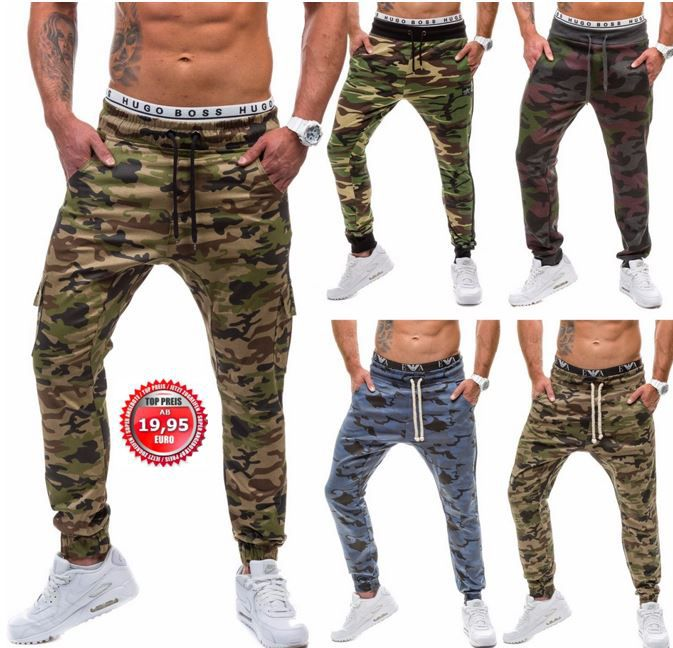 Military Sport und Jogginghosen Athletic, Hot Red, Jim Poweel, Madmext   Military Sport und Jogginghosen für je 19,95€