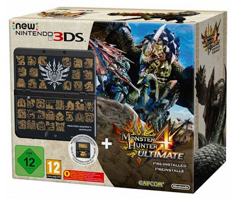 Nintendo New 3DS + Monster Hunter 4 Ultimate Pack für 159,30€ (statt 180€)