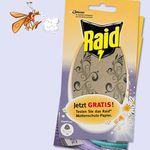 Gratis Raid Mottenschutz-Papier als Probe