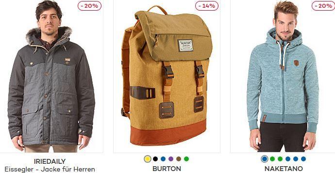 Naketano Planet Sports Winter Sale mit bis 50% Rabatt + bis zu 50€ Gutschein   günstige Sport Hardware  u. Fashion