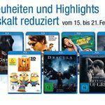 10 Blu-rays für 50€ und mehr Amazon DVD und Blu-ray Wochen Angebote