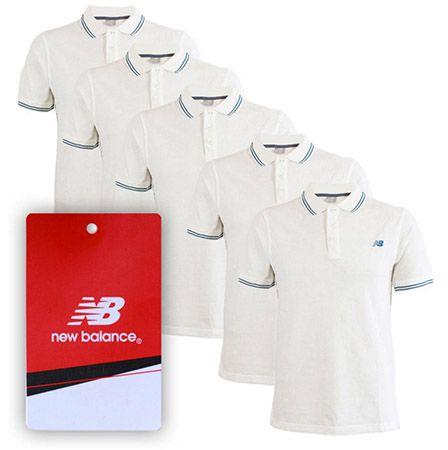 5er Pack New Balance Poloshirts für 22,49€