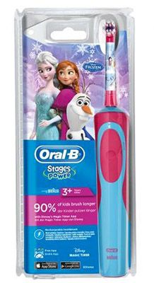 Oral B Stages Power Frozen Bundle (elek. Bürste + 4 Bürsten) für 33€ (statt 40€)