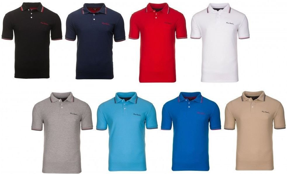 PC Polo Shirts Pierre Cardin Tipped   Herren Polo Shirts für je nur 12,99€