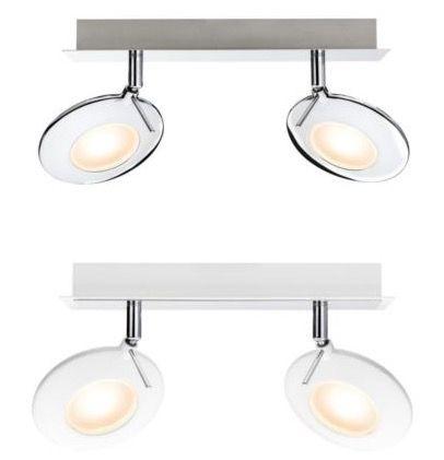 Paulmann Orb Paulmann Orb   LED Balken Spotlights in 2 Farben für je 24,95€