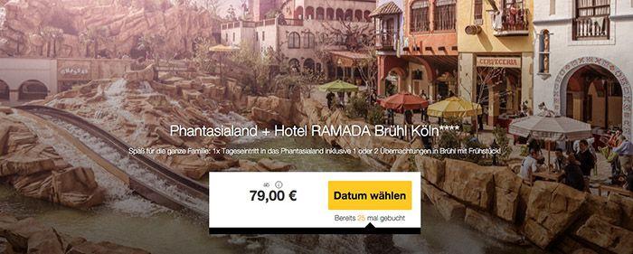 Phantasialand Phantasialand + 1 2 ÜN im 4* Hotel mit Frühstück ab 79€ p.P.