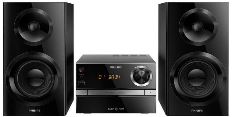 Philips BTB2370/12   gute mini Stereoanlage mit Bluetooth statt 204€ für nur 159,20€