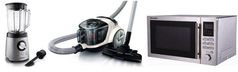 Haushaltsgeräte: Heute stark reduziert   z.B. Philips Power Pro Bodenstaubsauger statt 92€ für 66€