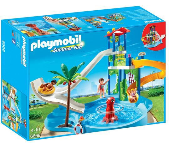 Playmobil 6669 Playmobil Aquapark Set mit Rutschentower ab 23,72€ (statt 38€)
