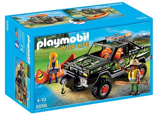 Playmobil Abenteuer Pickup ab 12,96€ (statt 22€)