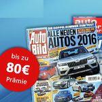 AUTO ZEITUNG – auto motor und sport oder Auto Bild Jahresabos ab effektiv 10,40€