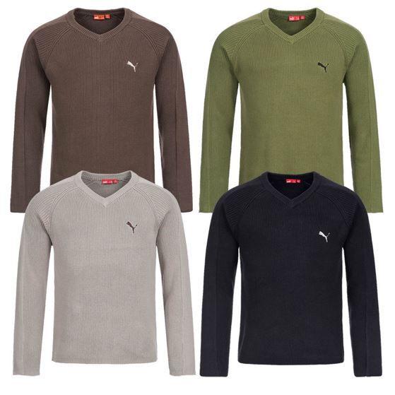 PUMA   Herren Sweatshirts und Pullover mit V Neck für je nur 19,99€