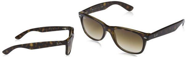 Ray Ban Herren Sonnenbrillen Ray Ban RB2132 New Wayfarer   Herren Sonnenbrille für 60,49€