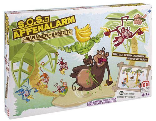 S.O.S. Affenalarm Bananen Bandit Kinderspiel ab 6,45€ (statt 12€)