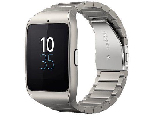 SONY SWR 50 Smart Watch 3 Metallic Smart Watch Sony SmartWatch 3 Edelstahl für 149€ (statt 187€)