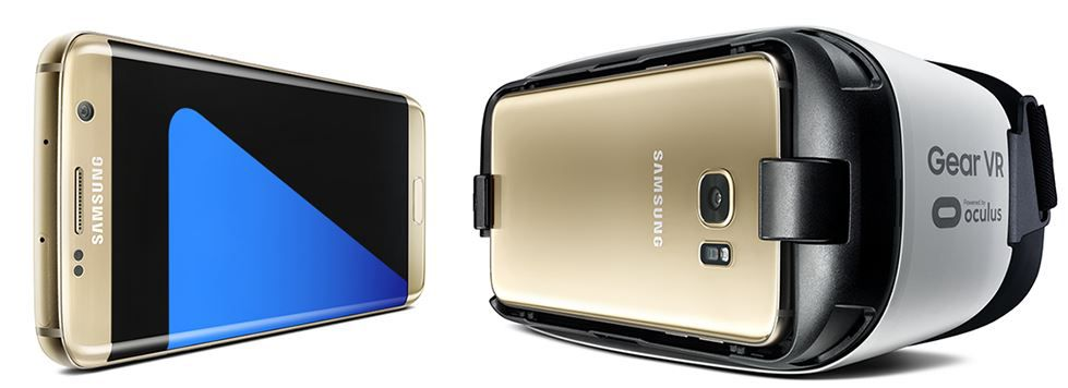Samsung S7  Samsung Galaxy S7 + Samsung Gear VR Brille + Otelo Allnet + SMS Flat mit 1,5 GB Daten ab 29,99€