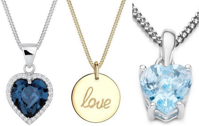 Herz Schmuck mit Rabatt heute bei Amazon z.B. Elli Damen Halskette 925 Sterling Silber für 27,95€