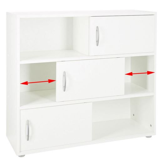 Sideboards mit Schiebetüren weiß für nur 31,99€