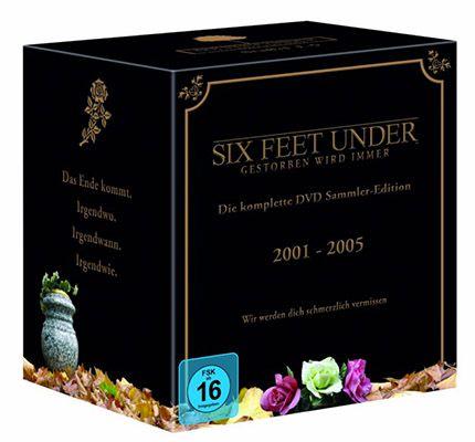 Six Feet Under   Die komplette Serie (25 DVDs) für 34,97€ (statt 50€)