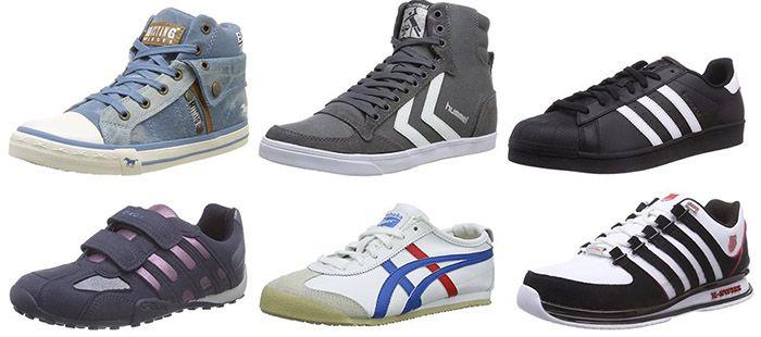 Sneaker Große Sneaker Aktion mit bis zu  50% Rabatt bei Amazon   KNALLER !