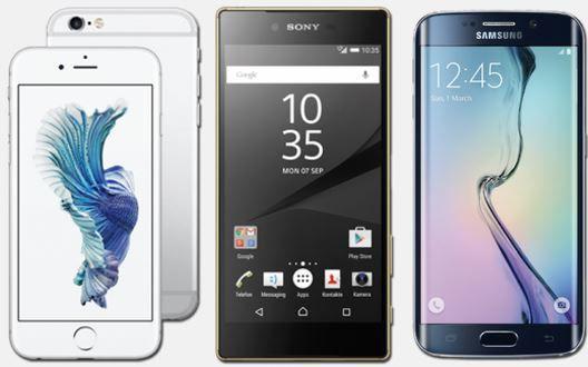 Sony Xperia Z5 Premium mit Vodafone AllNet + SMS Flat + 1GB LTE für mtl. 34,99€