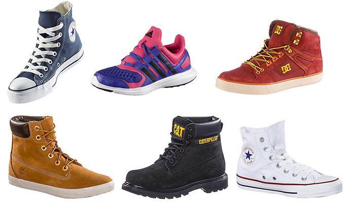 20% Rabatt auf alle Schuhe bei Sportscheck