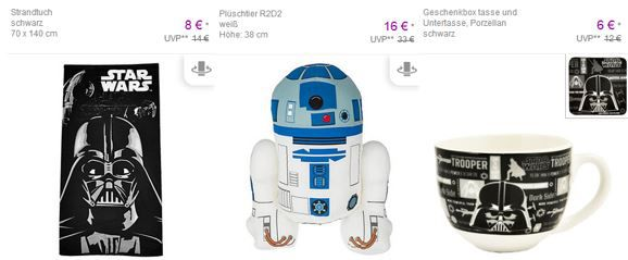 Star wars Rabatt Star Wars Fan Artikel Sale @ Vente Privee   Tassen Uhren, Wecker Shirt, Badetücher .....