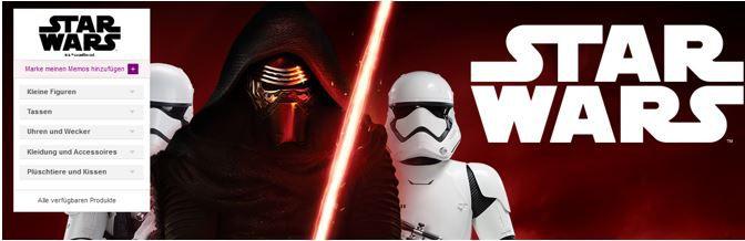 Star wars sale Star Wars Fan Artikel Sale @ Vente Privee   Tassen Uhren, Wecker Shirt, Badetücher .....