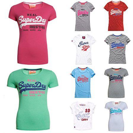 Superdry Damen Shirts Superdry Damen Shirts verschiedene Modelle für je 10,36€ (statt 20€)