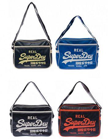 Superdry Taschen Superdry Taschen versch. Modelle und Farben für je 5,99€ (statt 25€)