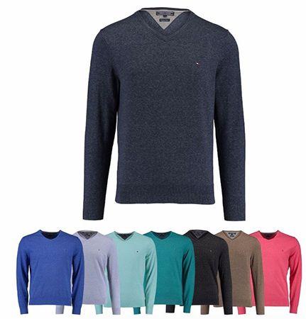 Tommy Hilfiger Herren Pullover Tommy Hilfiger Herren Pullover mit V Neck für je 59,90€