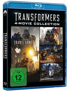 Transformers Teil 1 4 Blu ray für 12,90€ (statt 20€)