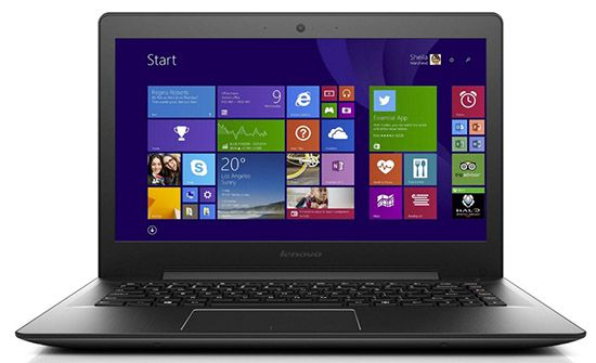 Lenovo U41 70   14 Zoll Full HD Notebook + Windows 8.1 für 299€
