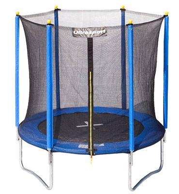 Ultrasport Kinder Gartentrampolin Uni Jump inkl. Sicherheitsnetz für 109,24€