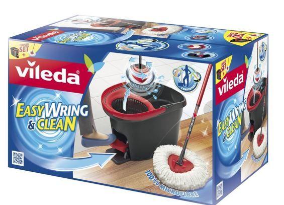 Vileda EasyWring & Clean Komplett Set für 29,99€