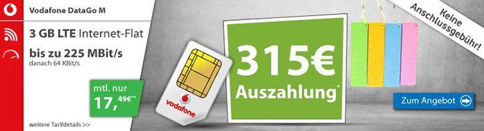 Vodafone DataGo M1 Laufende Handyverträge in der Übersicht   mit und ohne Smartphone