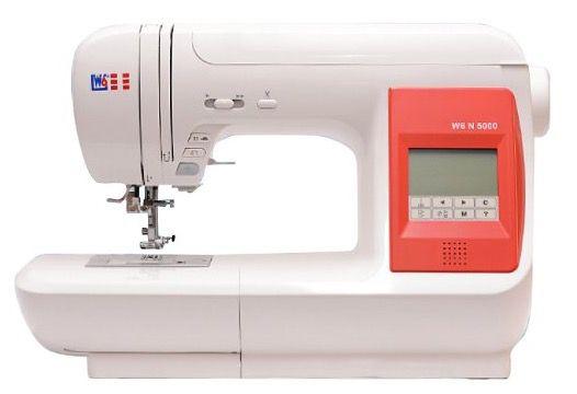 Bis Mitternacht: W6 N 5000 computergesteuerte Nähmaschine für 374,91€ (statt 419€)