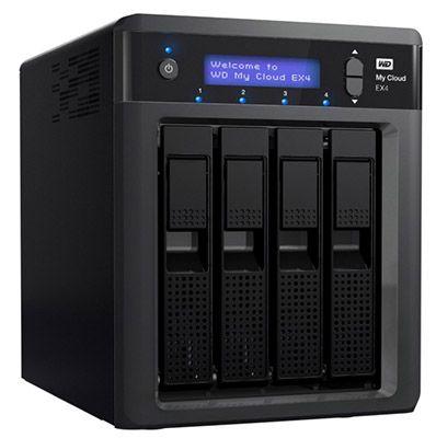 WD My Cloud EX4 NAS Leergehäuse für 247,21€ (statt 299€)