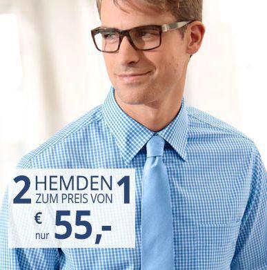 Walbusch 2 Walbusch Hemden für 55€