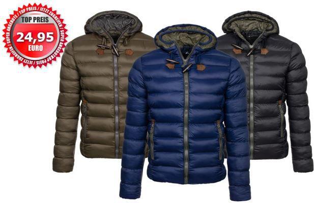Winterjacken Stegol AK123   Herren Winter Steppjacke für je 24,95€