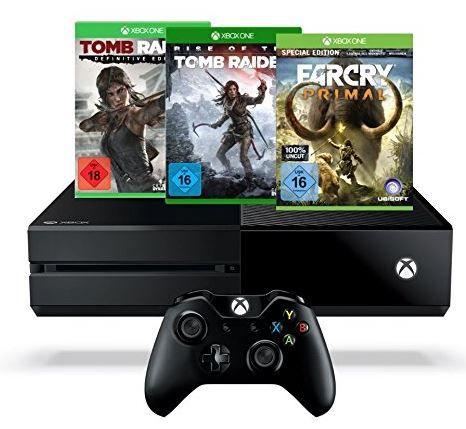 Xbox One 1 TB Tomb Raider Bundle + Far Cry Primal (100% Uncut)   Special Edition ab 339€