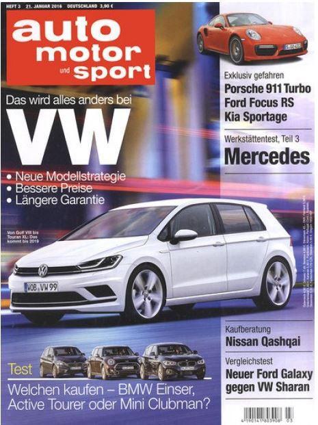auto motor und sport   Jahresabo für nur 7,90€ (statt 107,90€)