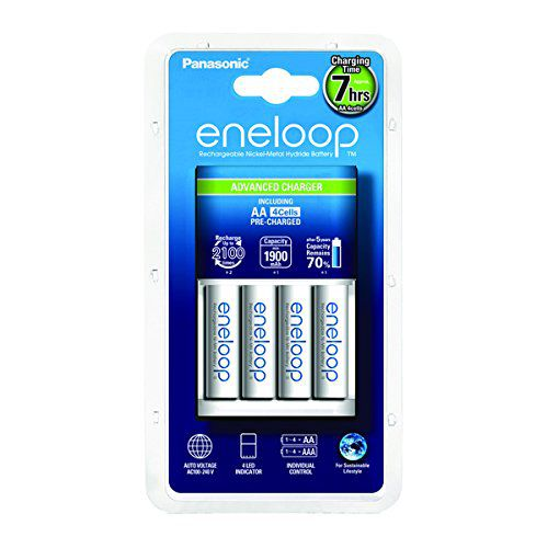 eneloop Ratgeber: Die besten wiederaufladbaren AA Batterien